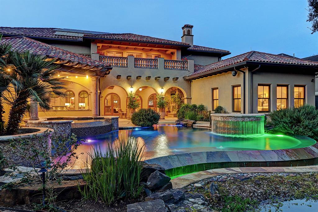 "Exquisite Tuscan-style masterpiece on almost an acre. Master down, game & media rooms up. A perfect blend of exceptional design & architectural details, artisan-level craftsmanship and extraordinary beauty. Multiple ""green"" energy-efficient features, home built like a fortress to Miami-Dade County hurricane standards, superior technology & home automation system (including Crestron & Lutron). Two private walled gardens and backyard paradise including outdoor kitchen, outdoor living room with fireplace, sparkling pool, spa, water garden and fire pit, native plants, fruit trees & herbs, extensive irrigation system, covered parking for 7 cars, and an auxiliary building that can be converted to a casita. Magical home!"