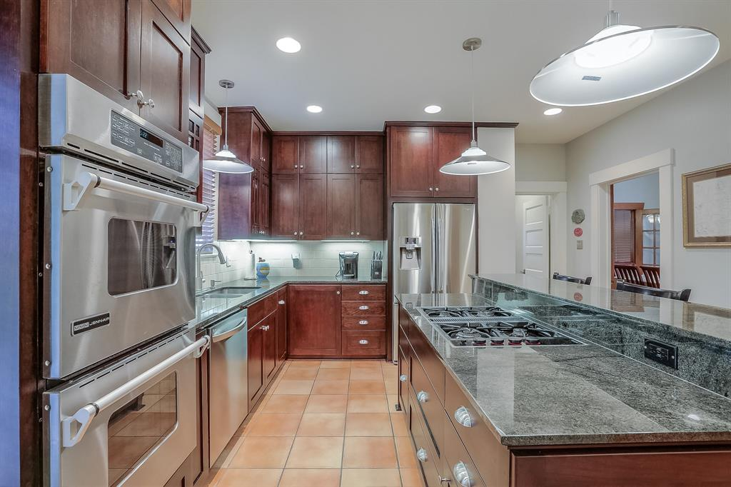 The family chef will love the gas cook-top and high end stainless steel appliances.