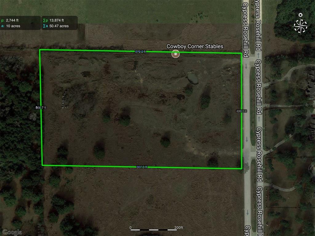 0 Cypress Rosehill Rd Road, Cypress, TX 77433