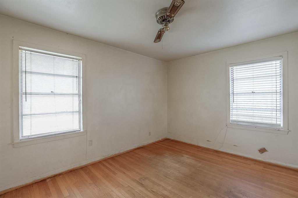 Third bedroom is very spacious.