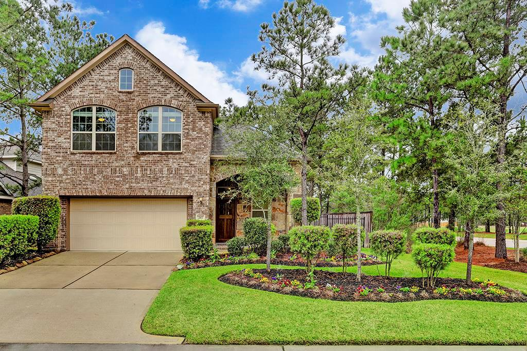 Available for long or short-term lease! Like-new Chesmar home in Woodlands Creekside, next to neighborhood lake/jogging trail and close to shopping, restaurants & schools. Neutral paint colors, hardwood/tile floors, high ceilings, open kitchen w/granite island/countertops, upgraded GE SS appliances; master retreat down w/ 2 walk-in closets; 3 bedrooms & game room up; fenced yard w/covered patio; refrig & w/d included. Listing rate for 12 months. Shorter terms are negotiable. Won't last long!