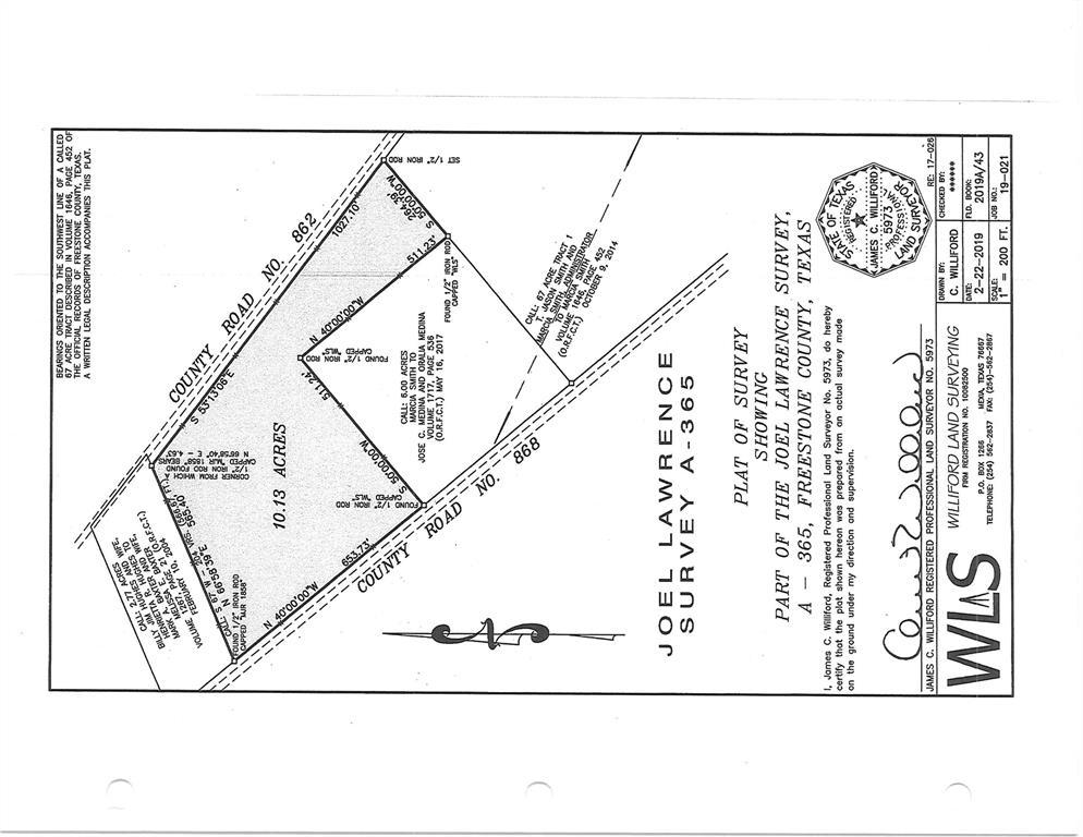 TBD FCR 868, Teague, TX 75860