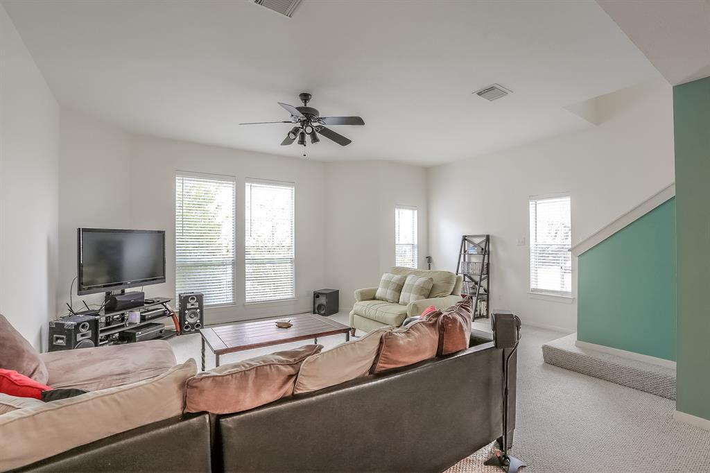 Large living space is great for relaxing with your family or watching the big game.