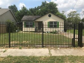 2314 & 2316 napoleon street, houston, TX 77004