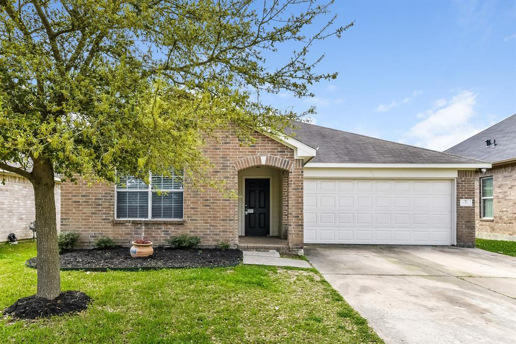 Fall in love with this single family home in Spring, TX. This home has a total of 3 bedrooms and 2 bathrooms. This home has a 2 car garage with mature landscaping in both the front and back yard. Enjoy the enormous living room area that includes large dining room and kitchen entry. This home has plenty of cabinet and counter space and a large pantry. In the master suite you'll find a spacious bathroom with a stand up shower and garden tub.