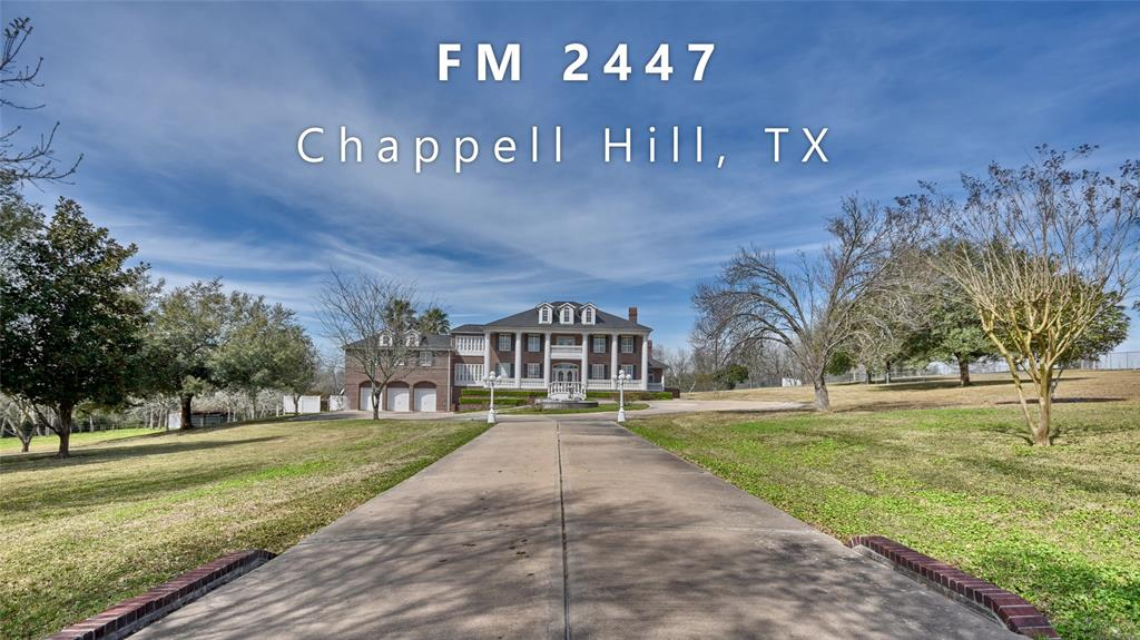 10909 Farm To Market 2447, Chappell Hill, TX 77426