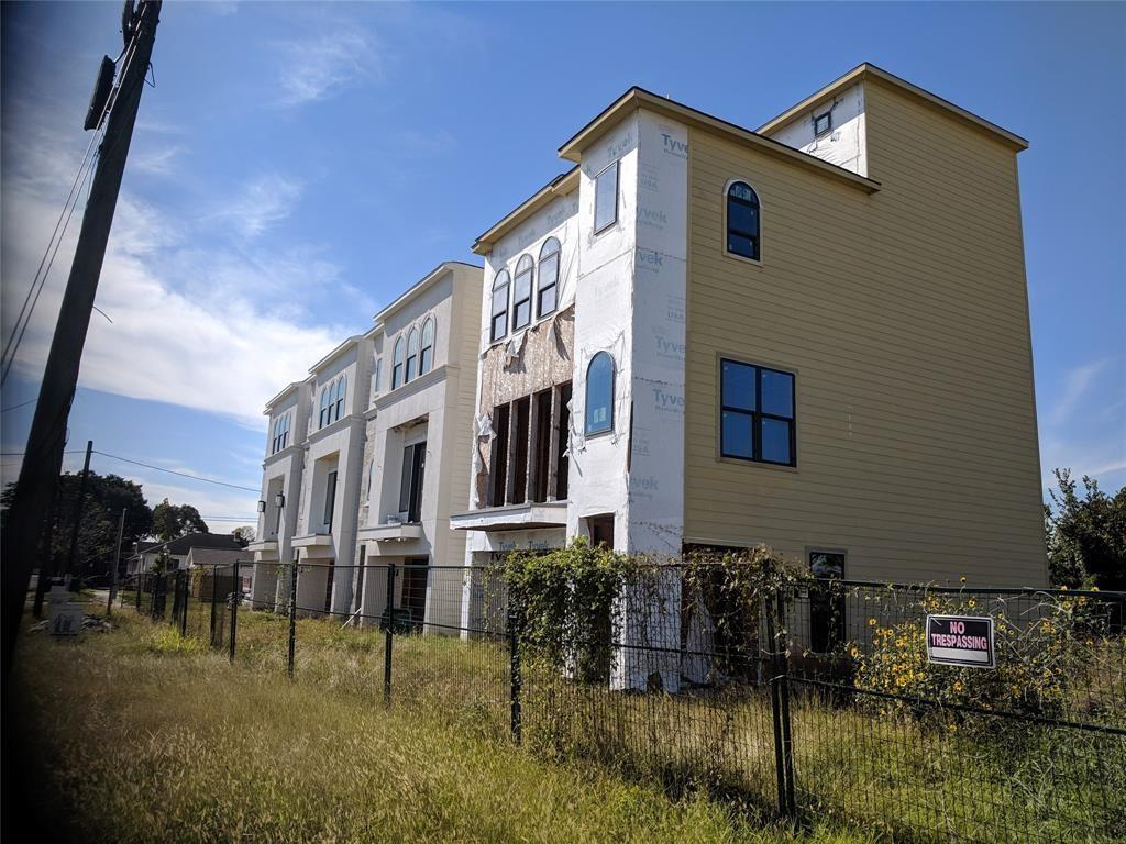 Come finish out this 9 townhome development just south of Downtown Houston. 4 of the homes are already in progress and the rest are ready to go. Take a look at the pictures and the documents. The photos of the kitchen are the best representation of how far a long the 3 townhouses are that are past framing. Contact us if you are interested.