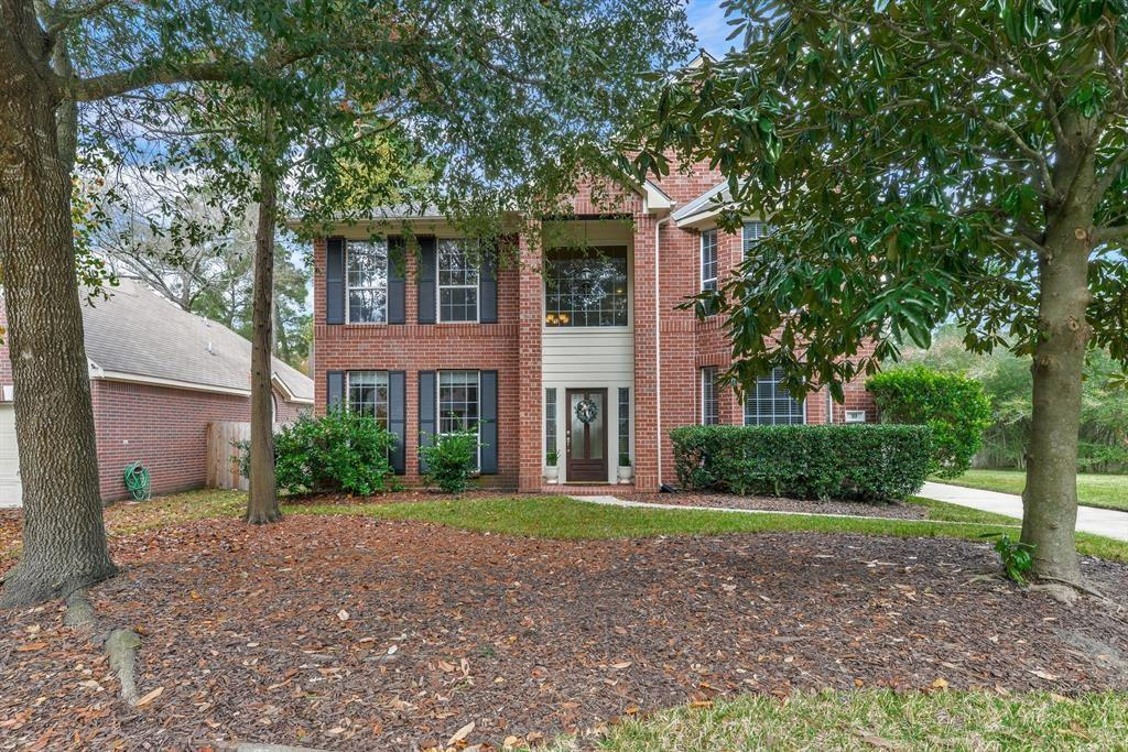 Stately Brick 2 story home in a lovely neighborhood zoned to BUCKALEW Elementary.  From the moment you open the door this home gives off a wonderful ambience.  The natural light is abundant in every room. The home stands out from the rest with its immaculate condition.  Wood floors, custom paint, updated kitchen enhance the interior.  The master suite has a sitting area!  There is a family park down the street and around the corner too.