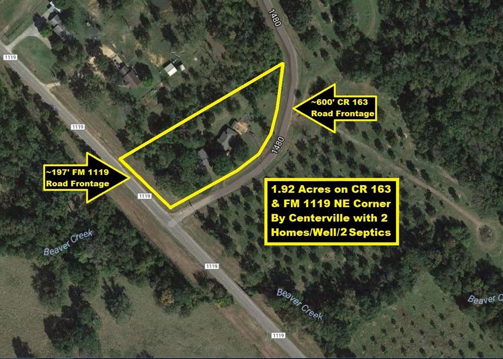 1039 County Road 163, Centerville, TX 75833