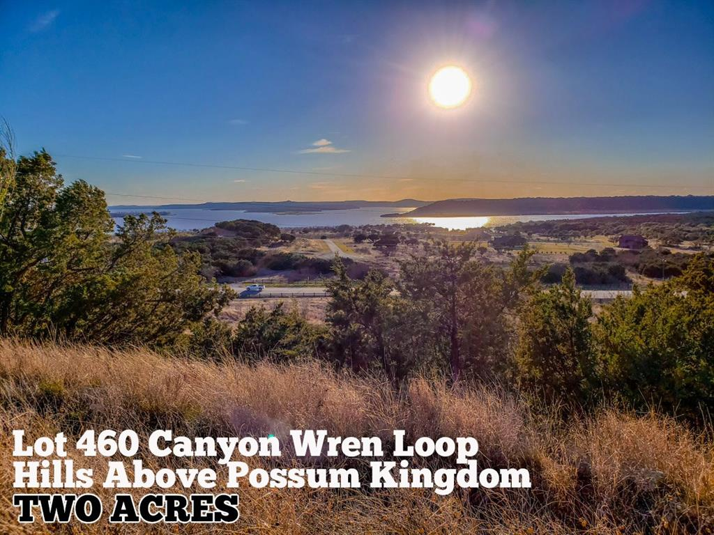 Lot 460 Canyon Wren Loop, Graford, TX 76449