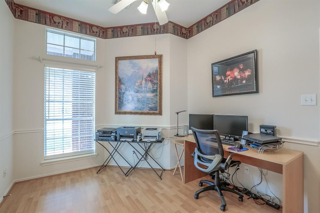 Office includes a closet so may be converted to a fourth bedroom.