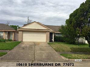 10610 Sherburne, Houston, TX, 77072