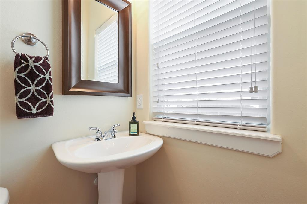 You and your guests are going to appreciate the half bath located on the main living floor.