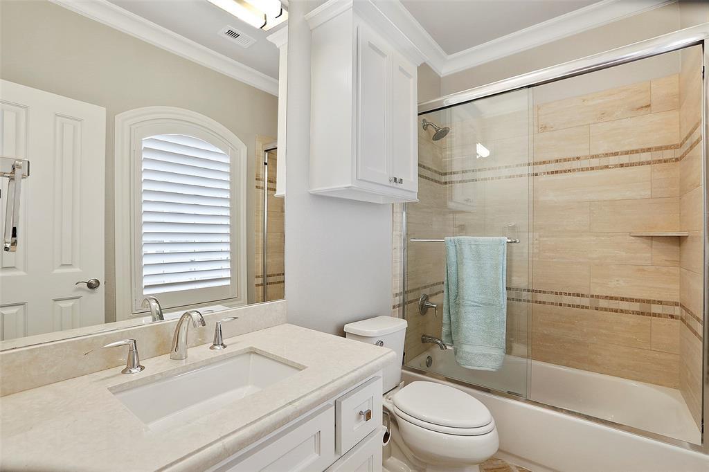 Full bath # 3 adjacent to bedroom # 3.