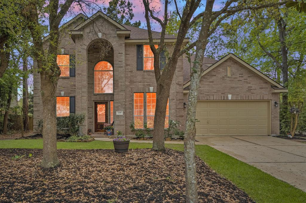 Beautifully updated 4 bedroom Ryland home. Zoned to exemplary Woodlands schools, conveniently located off 242 and I-45 close to shopping, restaurants, grocery stores and more in sought after subdivision of Harpers Landing. Features include, study/library, oversized living room and gameroom, formal dining, exterior paint and new roof (2019), fresh interior paint (2017), new dishwasher and microwave (2018), new wood tile down including in master suite, updated toilets, crown molding and ceiling fans (2017). You'll fall in love with the massive wooded backyard, with extended back porch with fan to fight off the hot Texas Summers, and lush greenery. This gem won't last long, call Harpers Landing home today!