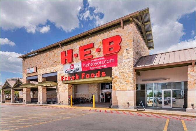 The Bunker Hill Plaza shopping center with a HEB is just a few minutes away.