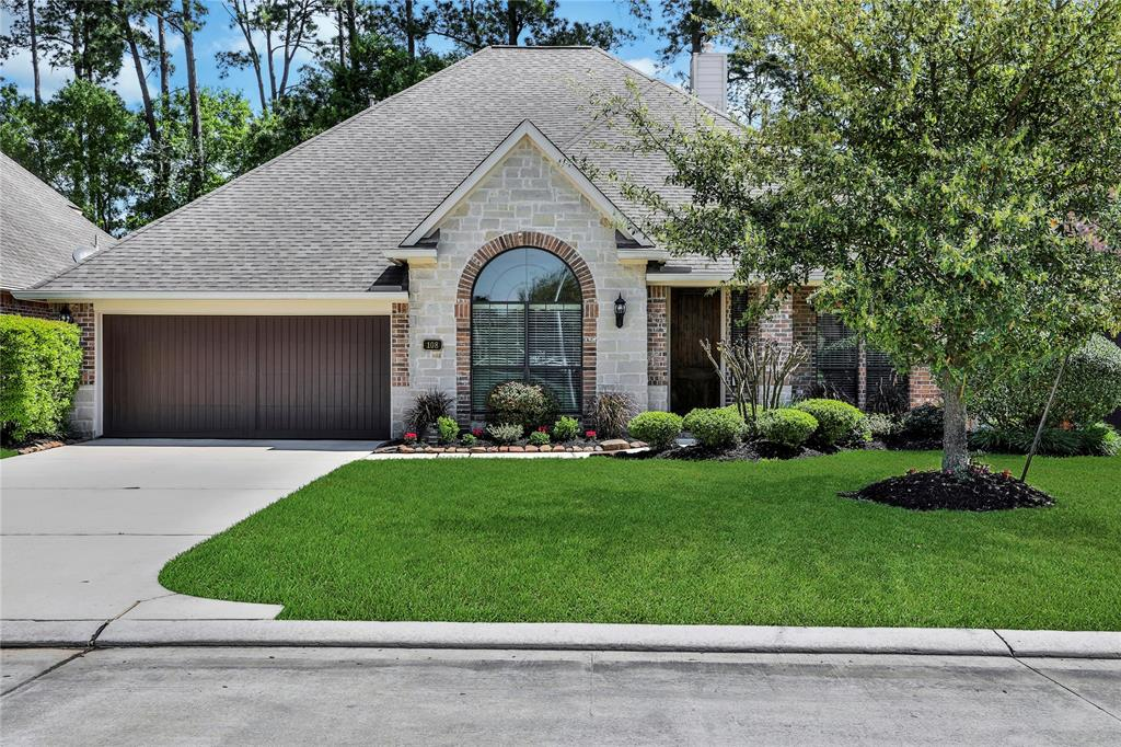 You will not be disappointed with this immaculate 1.5 story home which has been lovingly and meticulously maintained from top to bottom by the original owners! Zoned to The Woodlands College Park High School, & with quick access to I-45, The Woodlands Mall, Market Street, and Hughes Landing! It's just a 5 minute walk to the 2 neighborhood parks & pool! Home features 3 bedrooms & study down w/huge room upstairs w/closet & full bath that can be a game room or a 4th bedroom! This open plan has neutral decor & great natural light! The covered rear porch and expanded patio overlooks a well-manicured yard w/plenty of room for a pool! Downstairs has easy-care tile & hardwood flooring, and carpet is just in the bedrooms. The spacious kitchen features stainless appliances & 5 gas cooktop plus ample counter & cabinet space for the chef! Master suite offers privacy at the rear of the home. The Washer/Dryer/Refrigerator, TV's, fire pit, and chairs are included! This home truly does sparkle!