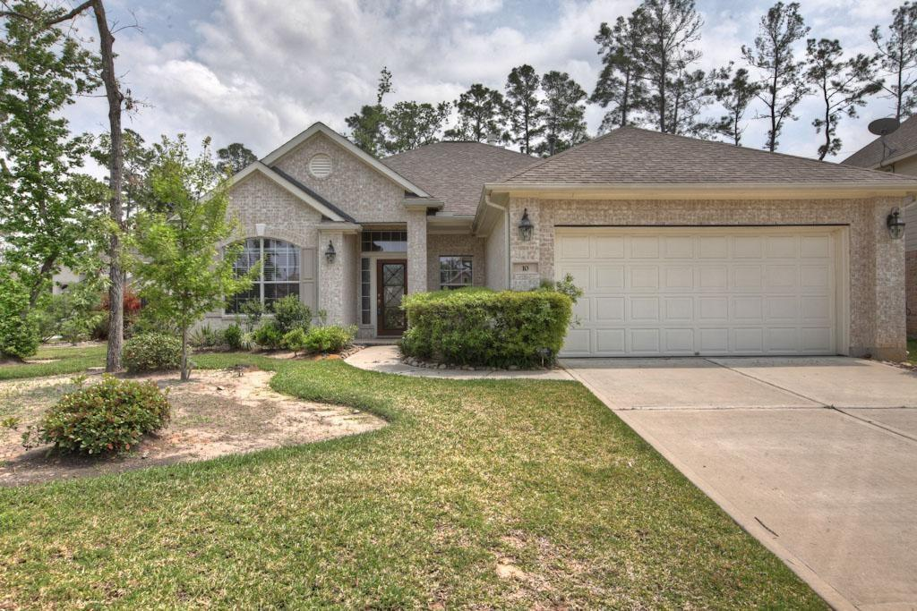 Spacious 4 bedroom home plus study located on an oversized cul-de-sac lot in beautiful Creekside Park. Carpet, tile & hardwood flooring. Island kitchen with granite countertops opens to large living room. Close to Creekside schools and recreation areas.