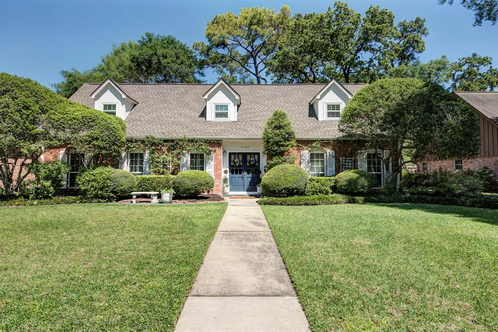 Character and charm are all around in this gorgeous restored* home in Memorial Plaza just a short walk from Rummel Creek Elementary (Buyer to verify eligibility)! Gleaming hardwoods in all bedrooms, living areas, entry & master bath. Dining room is just off entrance and opens to sitting room & family room, has floor-to-ceiling windows and still plenty of wall space for furniture. Dining room is now living room/sitting room. Charming kitchen has Caesarstone counters w/ ample work space, plenty of cabinetry, open shelving and opens to family room with views of oversized backyard & gorgeous landscaping. Master is down with walk-in closets. Master bath has been expanded* by current owner and transformed to a spa-like bath with separate tub and shower and double sinks with hardwood floor in most of the room, which gives this space so much charm. Upstairs, all the bedrooms have wood floors, lots of windows for all the light, great closet/storage space. Recent* windows and roof. *Per seller