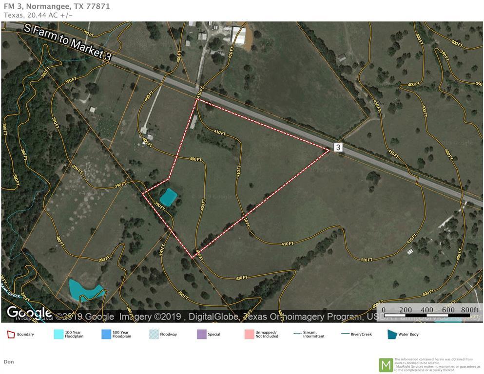 20.44 Acres FM 3, Normangee, TX 77871