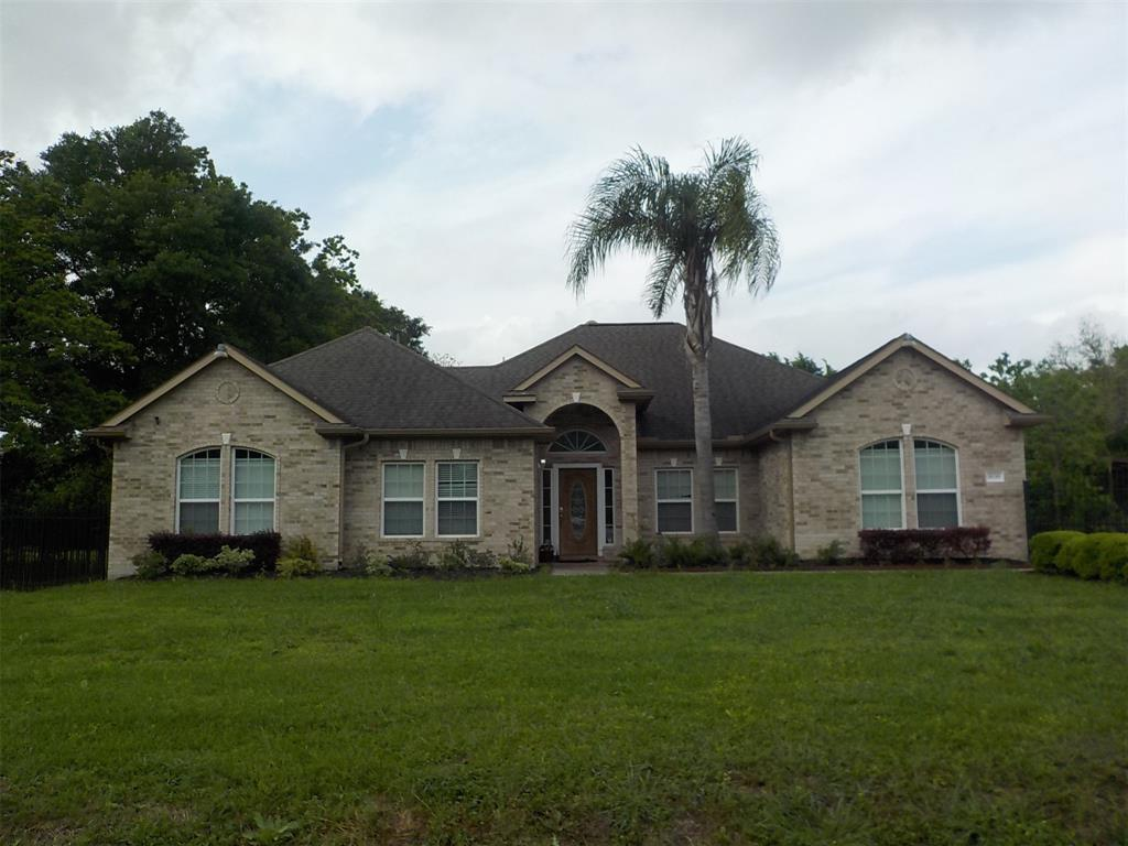 Must see !! HOBBY AREA LOCATION!!! Custom Brick ONE Story House!! 4 bedrooms with a game room or Media room that could be 5th bedroom. Separate Formal Dining area and Breakfast area. Electrical Private iron Gate.  Ceramic flooring through out the house. Master bathroom has separate Shower and Garden tub.