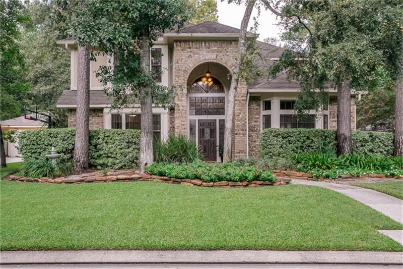 Beautiful, well-maintained home. This Breathtaking Home ALL the Amenities you have been looking for! Located in a Prime Woodlands location on a Cul-De-Sac Street this Stunning 4 Bedroom Updated Home features Silestone and Granite Counters, Stainless Steel Appliances, Hardwood Floors, Open Versatile Floor Plan, plus so much more I can't list them all! Zoned to Exemplary Award-Winning Woodlands Schools and is just steps from area Park and Fishing Pond. Perfect Woodlands Home!