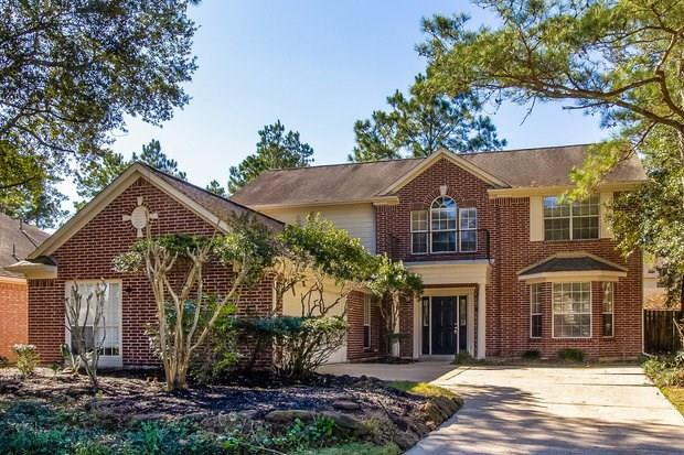 Gorgeous rental home in Spring, TX! You will fall in love with the large kitchen, complete with granite countertops, an island and a dining area. The family room boasts a brick fireplace and flows into the formal dining room. You will appreciate the two bonus rooms as well, ideal for a home office and a game room! The master bedroom offers a walk-in closet and a private bath with dual sinks, a separate shower and a garden tub. The patio in the backyard is the perfect place to entertain guests!