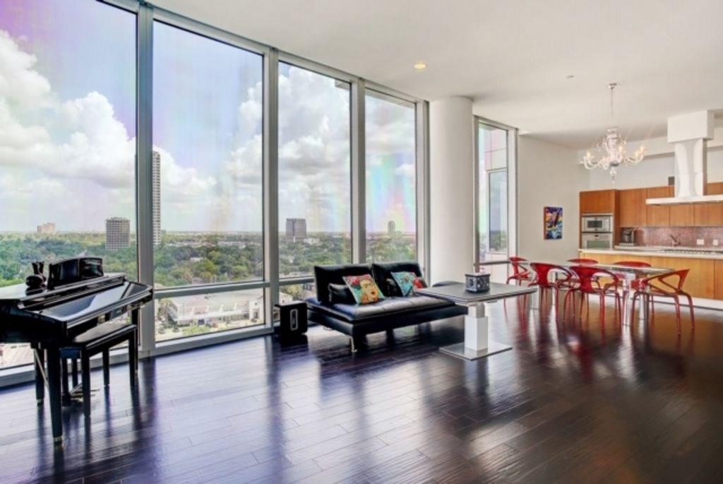 11th story condo in 30 story building. Valet, 24 hour concierge, controlled access, fitness center, pool, cabana, hot tub, guest suites, & two entertaining spaces. Storage unit. Two parking spaces with option to purchase third space. Open Concept living. 12 ft. floor to ceiling windows. Motorized shades, Sonos.