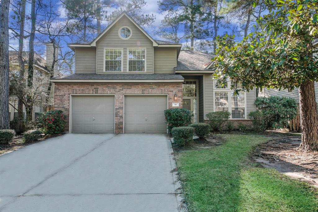 Fabulous home in sought after neighborhood of Forest Lake featuring an easy living open floor plan w/ lots of windows, high ceilings, tile in entry,  kitchen, breakfast & baths. Home offers living, dining, study & family room with three bedrooms,two & half baths. Updated Master Bath ( granite counters, tiled shower and tub surround, glass shower door ) Kitchen offers granite counter-tops, stone back-splash, Brushed Stainless appliances.Range is 5 burner w/convection oven. Refrigerator, Washer & Dryer included. Fenced yard w/patio & sprinkler system. New 2018 Roof, New Blinds, New Carpet, Updated Hardware and more. Newer 2 A/C units for 1st & 2 floors. Newer Hot Water Heater, 2 car attached garage. Stress free front yard maintained by HOA. Perfect location nearby exemplary schools, parks , bike trails and area pools. Walk to Panther Creek Shops.  Washer, Dryer, Refrigerator along with front yard maintenance  included....