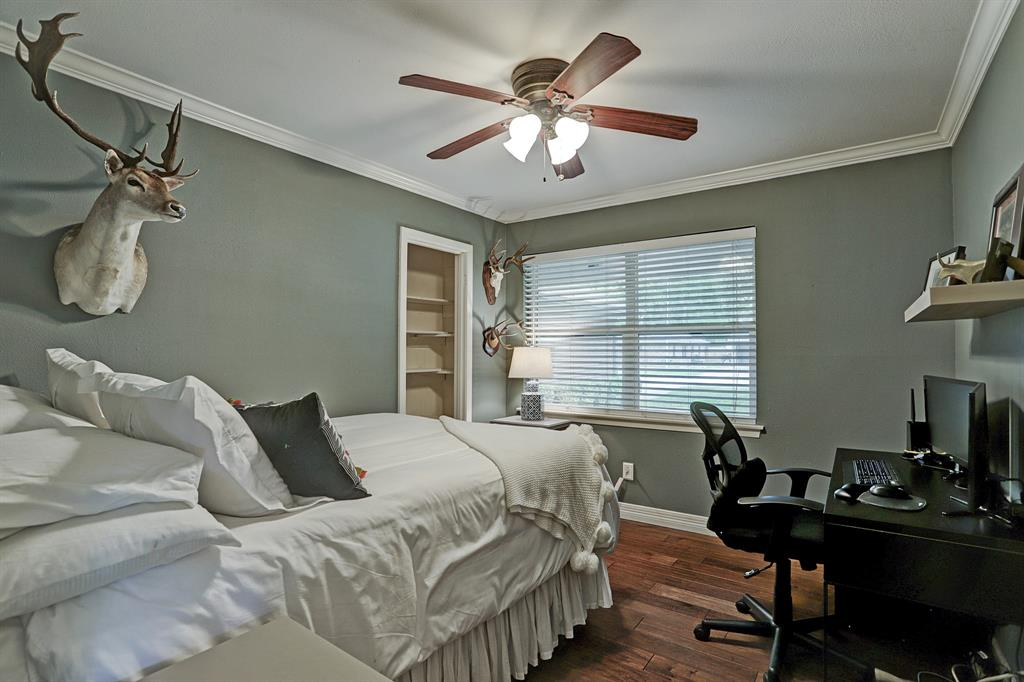 One of three bedrooms. Currently being used as a guestroom and office.