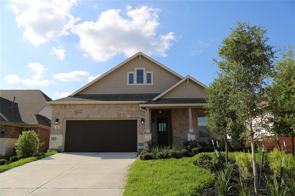 Brand new one-story, located in the Woodlands Sterling Ridge Subdivision. This home offers an open floor plan with granite in the kitchen and baths, casual dining room, master bath with tub and shower, large walk-in closet, new appliances.