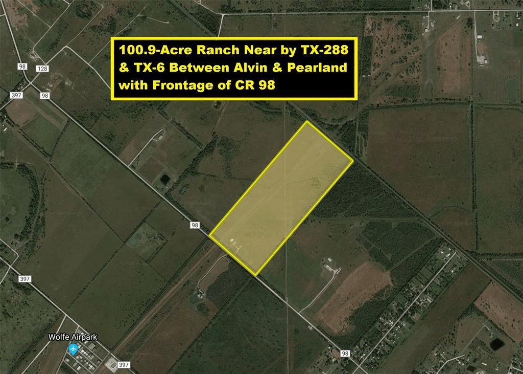 TR 36 County Road 98, Manvel, TX 77578