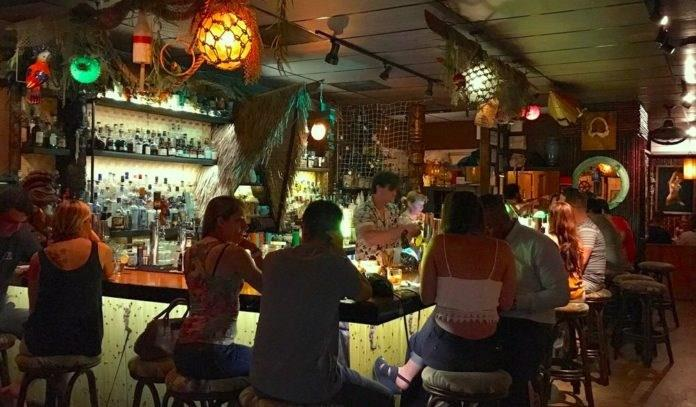 Walk to neighborhood hangout Lei Low to enjoy one of Houston's best Tiki bars.