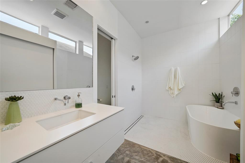 You will love starting and ending your day in the spa-like master bath with large shower and modern finishes.