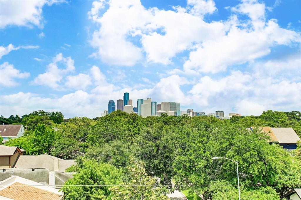 The beautiful downtown Houston skyline.
