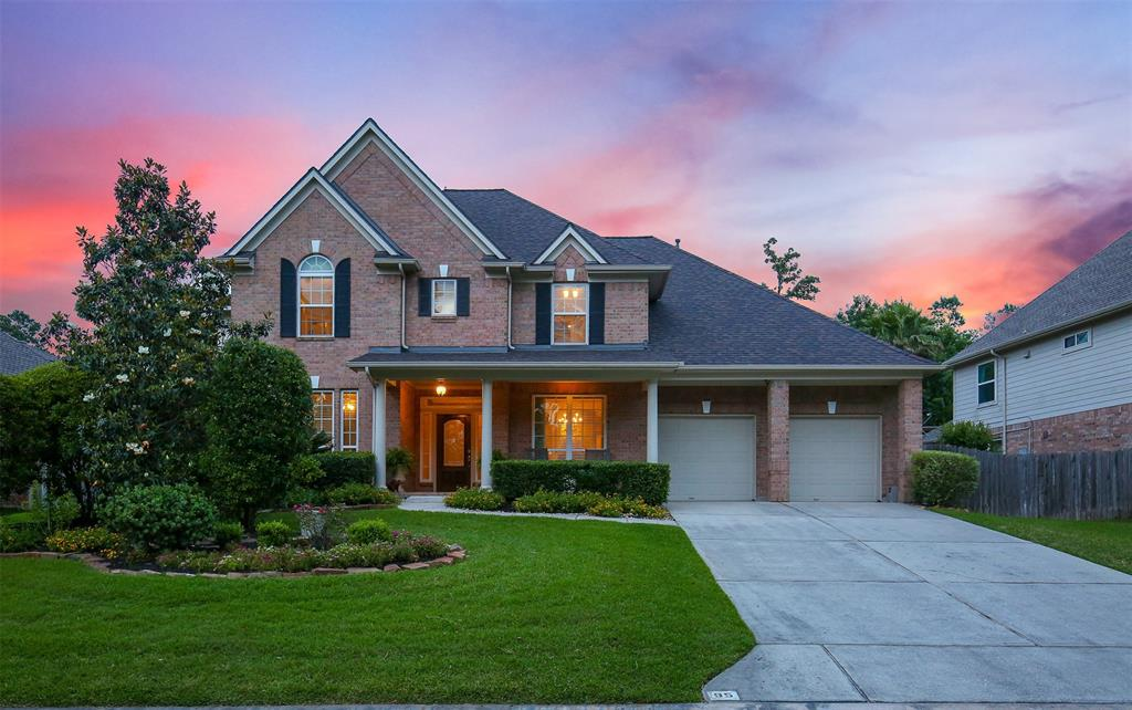 Stunning home zoned to highly sought after Galatas Elementary in Indian Springs! Multiple recent updates including NEW Roof Feb 2018. Covered front porch, hardwoods throughout first floor, double-pane windows & storage/built-ins galore plus large walk-in attic. Island kitchen, double ovens, SS appliances, breakfast bar & planning desk open to breakfast room & sunroom; large den w/ fireplace & surround sound, private study w/ French doors. Huge master retreat w/ sitting area overlooking beautiful backyard pool/spa & covered patio; 4 bedrooms w/ gameroom & craft/study room upstairs. Pool safety gate, play structure & kitchen refrigerator included. Sits high & dry!