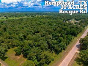 Tract 18- Bosque, Hempstead, TX, 77445