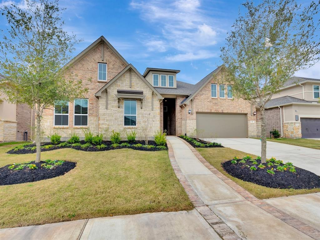 Brand NEW energy-efficient home ready Aug-Sept 2019! This Cottonwood floorplan features wood flooring throughout most of home, beautiful kitchen cabinets, granite countertops, stainless steel KitchenAid appliances with double oven, covered back patio, and lot backs up to a reserve with no neighbors in the back. Imperial is located within Fort Bend ISD, Sugar Land Town Square nearby and direct access to HWY 6, HWY 90, dining, shopping & more. You will love calling Imperial home. Known for our energy saving features, our homes help you live a healthier and quieter lifestyle, while saving you thousands of dollars on utility bills.