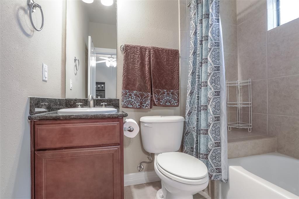 Full bath # 2 adjacent to bedroom # 2.