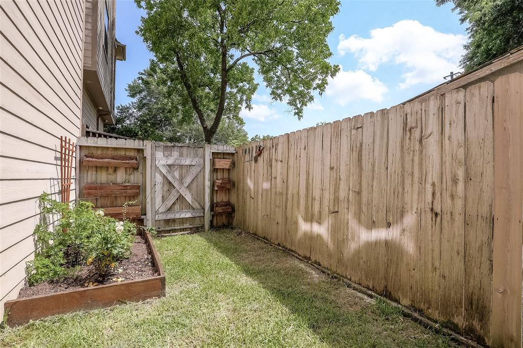 The family dog will enjoy the fenced yard space.