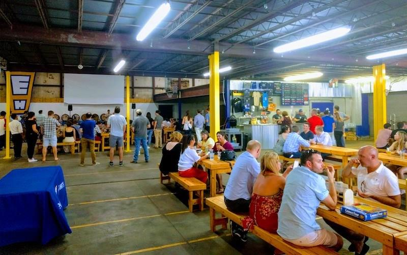 Walk to one of Houston's best breweries at Eureka Heights.