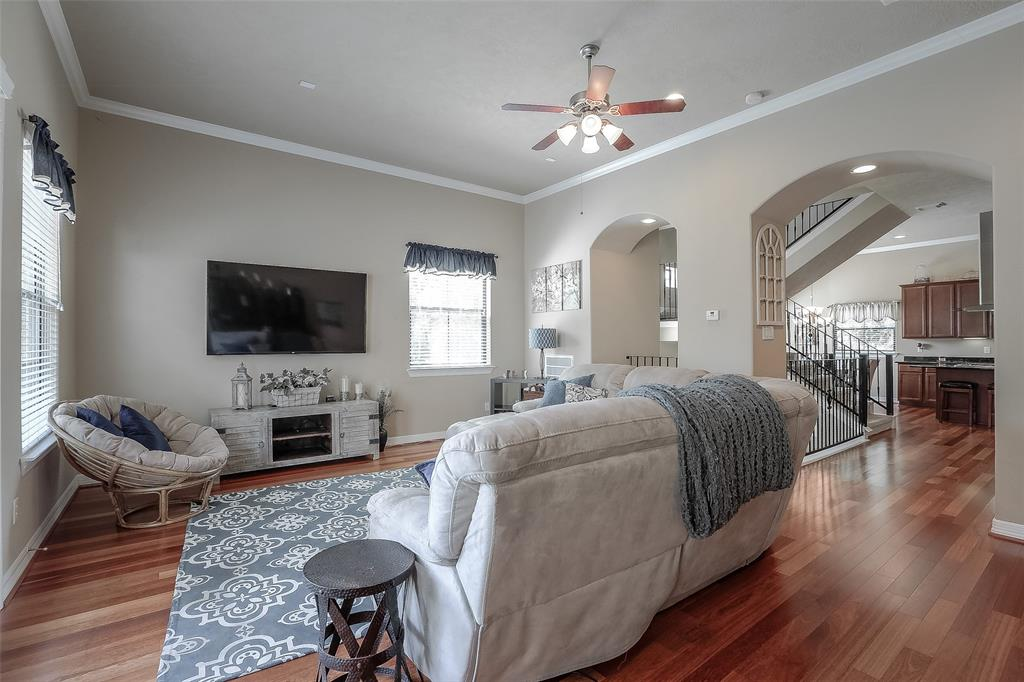 You will love watching the big game or relaxing with your family in the spacious living room.