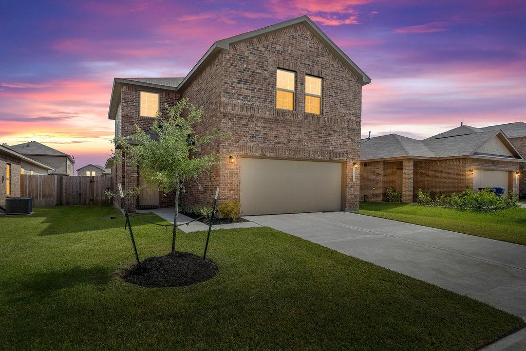 "NEW homes by Century Communities – Ready NOW! Multi-Gen designed Bandera floor plan 2141 sq. ft is a beautiful two-story home w/ an open concept that flows from the Family room through the Kitchen! 4 beds, 2.5 baths + 2 car garage w/ tons of storage. Master bedroom w/ HUGE closet & Master bath w/ Garden tub and a ½ bath 1st floor! Upstairs offers a spacious Gameroom & Loft w/ 3 huge beds & 1 full baths! Kitchen w/ 42"" Slate cabinets + granite countertops & Whirlpool appliances! Rear covered patio! Energy efficient features include; Environments for Living Certified Home, 16 SEER Carrier HVAC, Low E3 vinyl windows, Radiant barrier roof decking, Rinnai tankless gas water heater, Insulated doors, Clare Home automation light switch & thermostat that provides lower utility bills. EZ access to Fort Bend Tollway, Beltway 8, Hwy 90, Hwy 6 & minutes from Sugar Land/Hwy 59 & Pearland/Hwy 288. Schools are zoned to Fort Bend ISD. Call today for a private showing!"