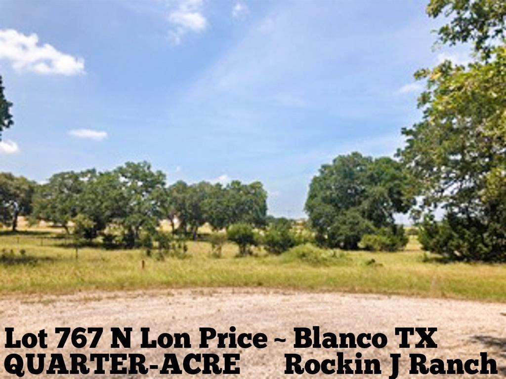 Lot 767 N Lon Price, Blanco, TX 78606