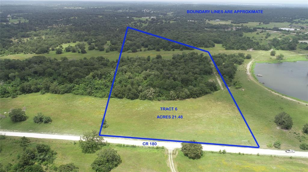 TRACT 6 COUNTY ROAD 180, Anderson, TX 77830