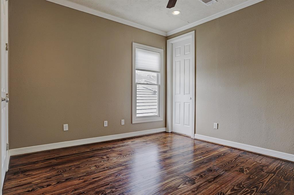 Third bedroom is located upstairs