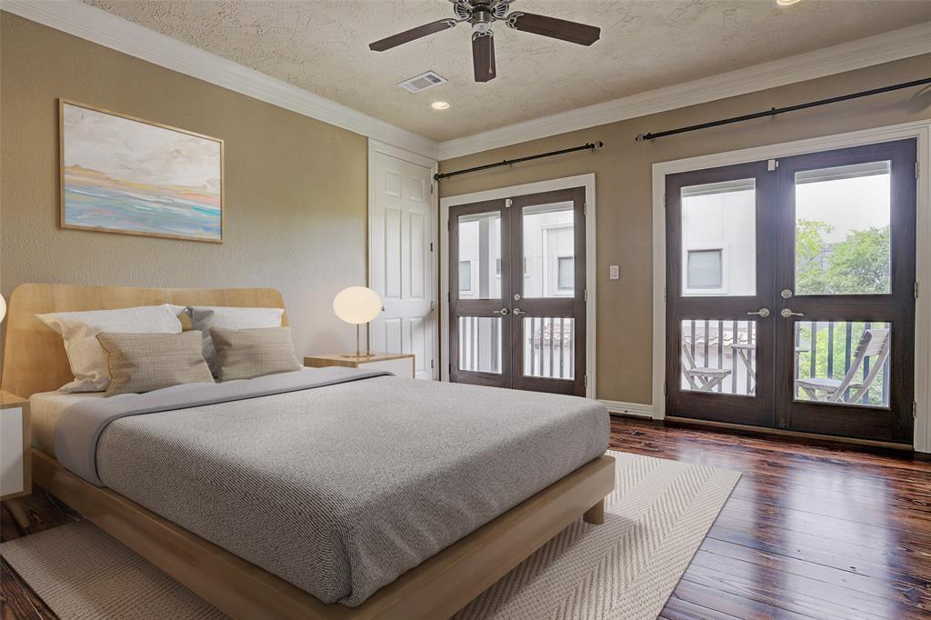 Virtual staging for Master Bedroom