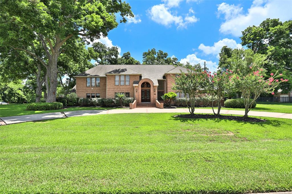 FANTASTIC CUSTOM home, MADE FOR PARTIES, 2-FULL WET BARS, 12-PERSON INDOOR HOT-TUB, HUGE MOVIE THEATER, MASSIVE GAME ROOM, BALCONY, BEAUTIFUL POOL, EVERYTHING UPDATED! LOCATED ON THE WATER, in the Estate Section of Weston Lakes on 1+ acre wooded corner lot, mature trees provide perfect shade, breathtaking views of the Water, walk down to your own PIER & FISH FROM YOUR DECK, screened-in pool w/water features, covered seating area, balcony w/spiral stairs, lush landscaping, tranquil water views. Updated bathrooms, flooring, hardware, A/C units, pool/decking, exercise room, Master retreat, power shower w/rain forest, sauna, aromatherapy, wifi settings. Amazing chefs dream Kitchen, HUGE granite breakfast bar, walk-in pantry, custom cabinetry, cedar closet, craft rm, hidden panic space, storage space galore!  Garage w/ race deck flooring, upgraded features go on & on, home offers ultimate comfort & luxury, THIS HOME HAS IT ALL !! AND IT DID NOT FLOOD. MAKE AN APPOINTMENT TO VIEW TODAY !