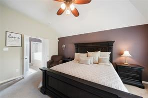Master suite is large enough to accommodate a kings size bed and furnishings.