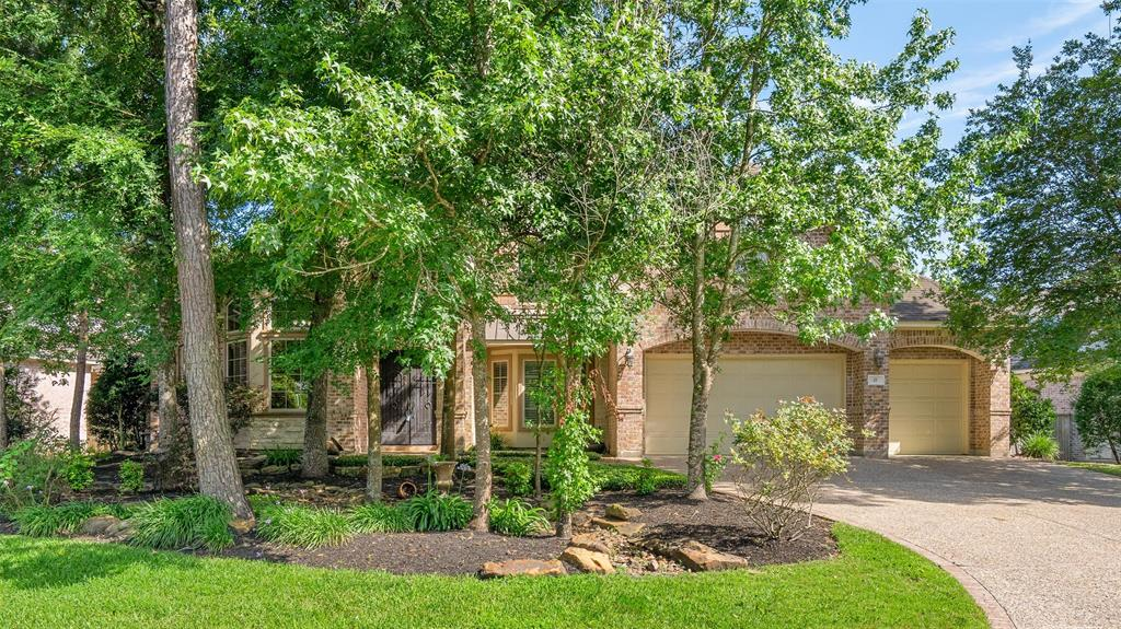 """This lovely home has it all and is light and bright with a fabulous floor plan - master and guest room down, sun room/craft room/ or play room off family/kitchen.  Wonderful pool and large trees added to backyard for a lush look.  All neutral paint done last year, LED lights added, immaculate condition in a great family neighborhood.  This custom home was built by the admired Meadowlark Builders and exudes quality with double entry iron doors, replicas of ones from Europe.  Outstanding trim details and built-ins with a large breakfast bar and a walk-in """"Texas attic"""" for great storage and true three car garage.  Old Sterling is an amazing family neighborhood and this house is ready for a discerning buyer"""
